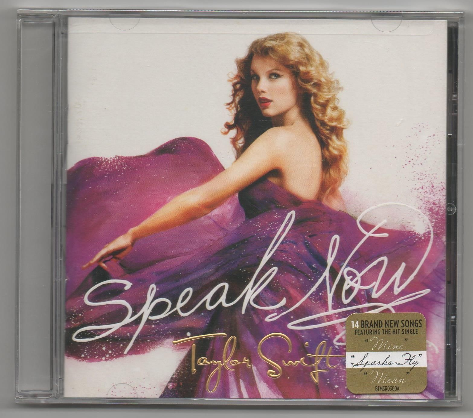 Primary image for Taylor Swift Speak Now 2010 CD Mean , Story of us, Back To December, Ours