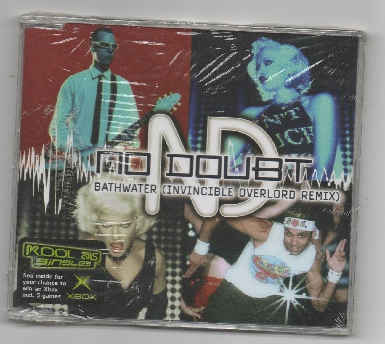 Primary image for No Doubt Bathwater Remixes 2004 CD Gwen Stefani