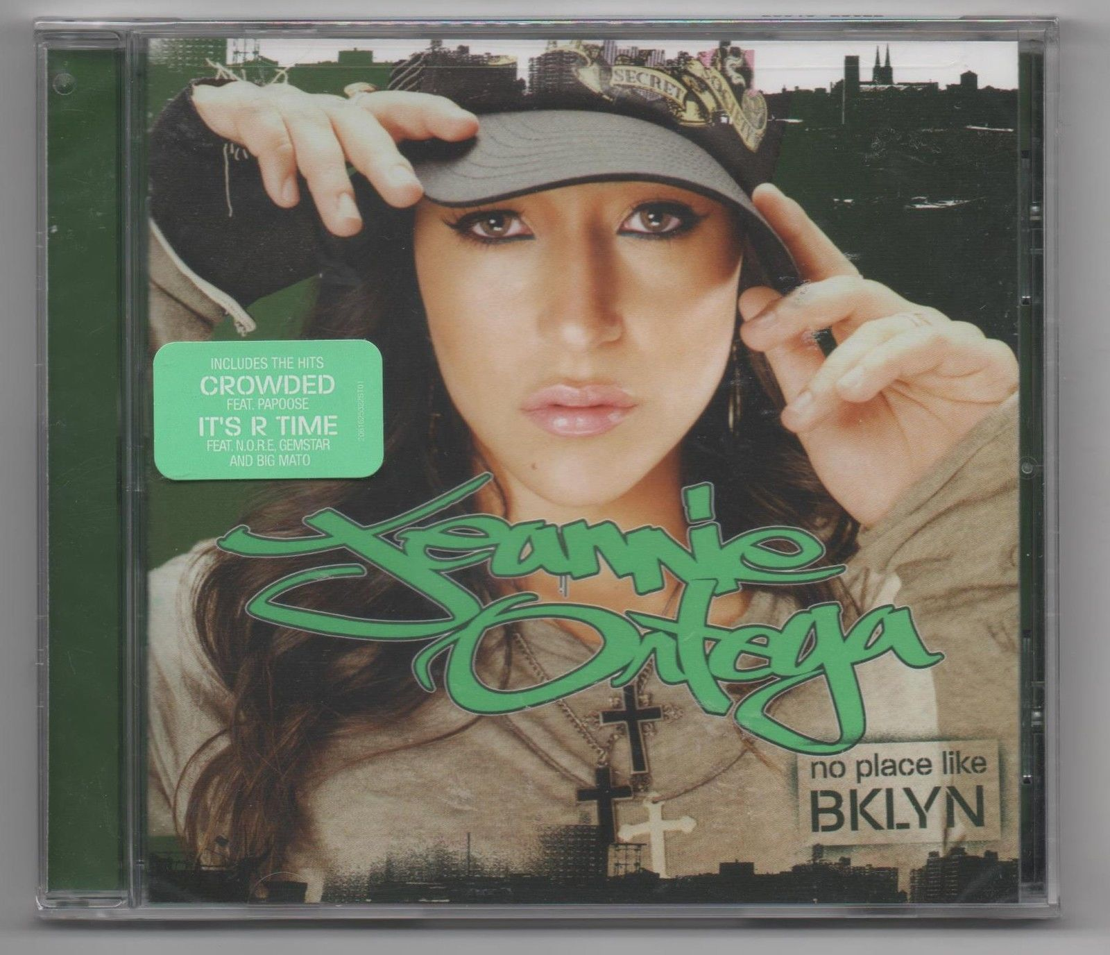 Primary image for Jeannie Ortega No Place Like Brooklyn 2006 Promo CD Crowded Feat. Papoose