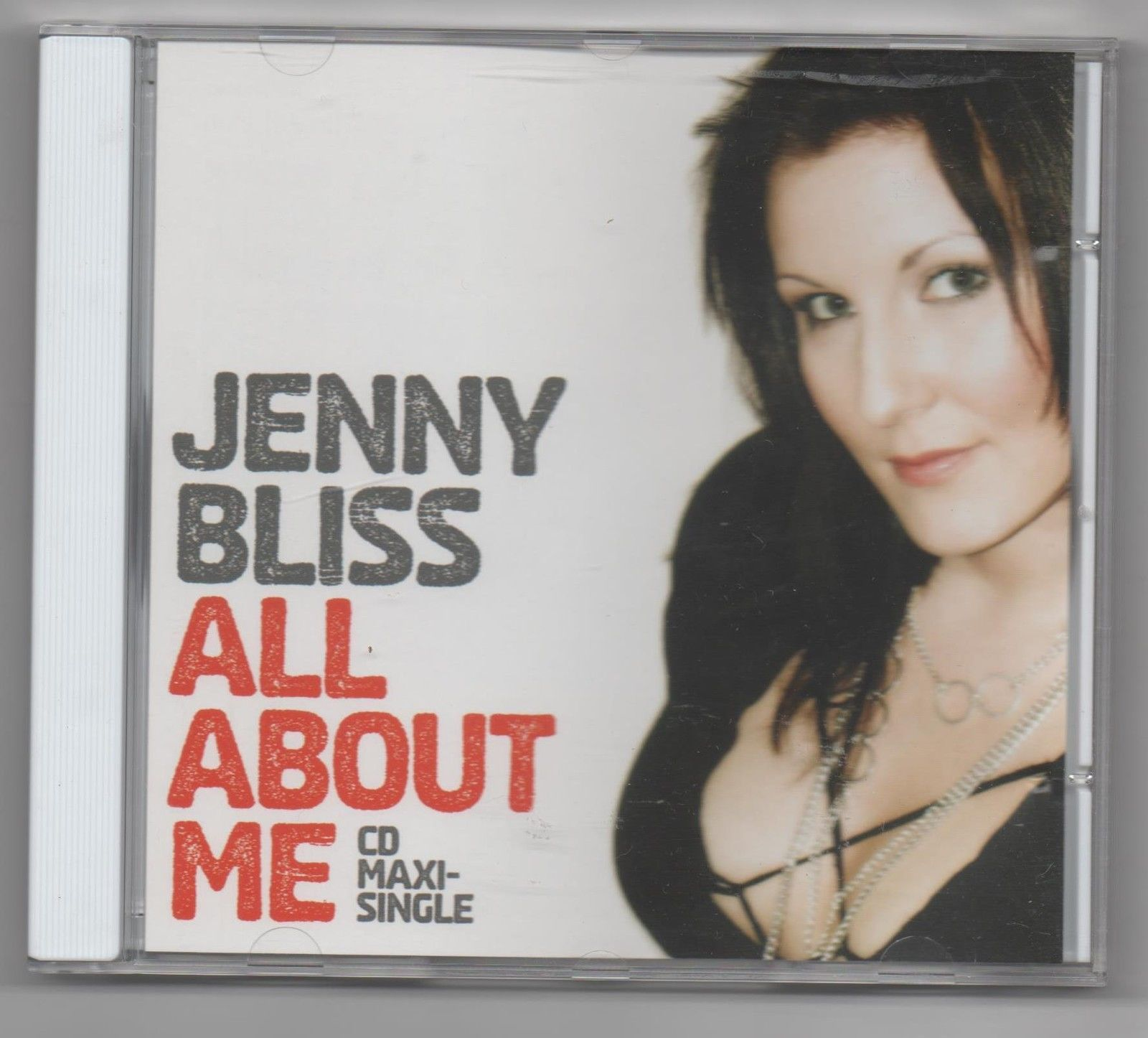 Primary image for Jenny Bliss All About Me 2008 Limited Edition Promo Remixes CD