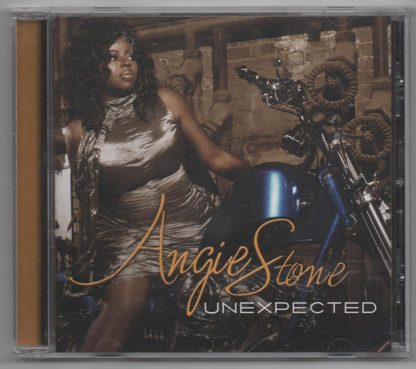 Primary image for Angie Stone Unexpected 2009 CD Limited Edition Promo