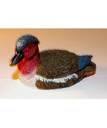 Redhead Duck Decorative Figurine 4.5 inches - $5.00