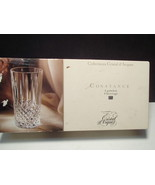 4 CRISTAL D'ARQUES CONSTANCE HIGHBALL TUMBLERS IN BOX - $29.95