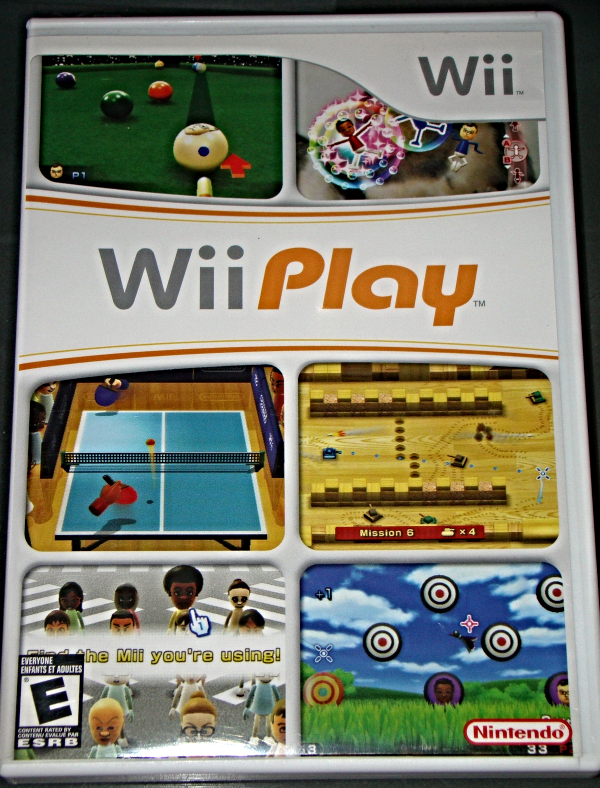 Primary image for Nintendo Wii - Wii Play (Complete with Instructions)