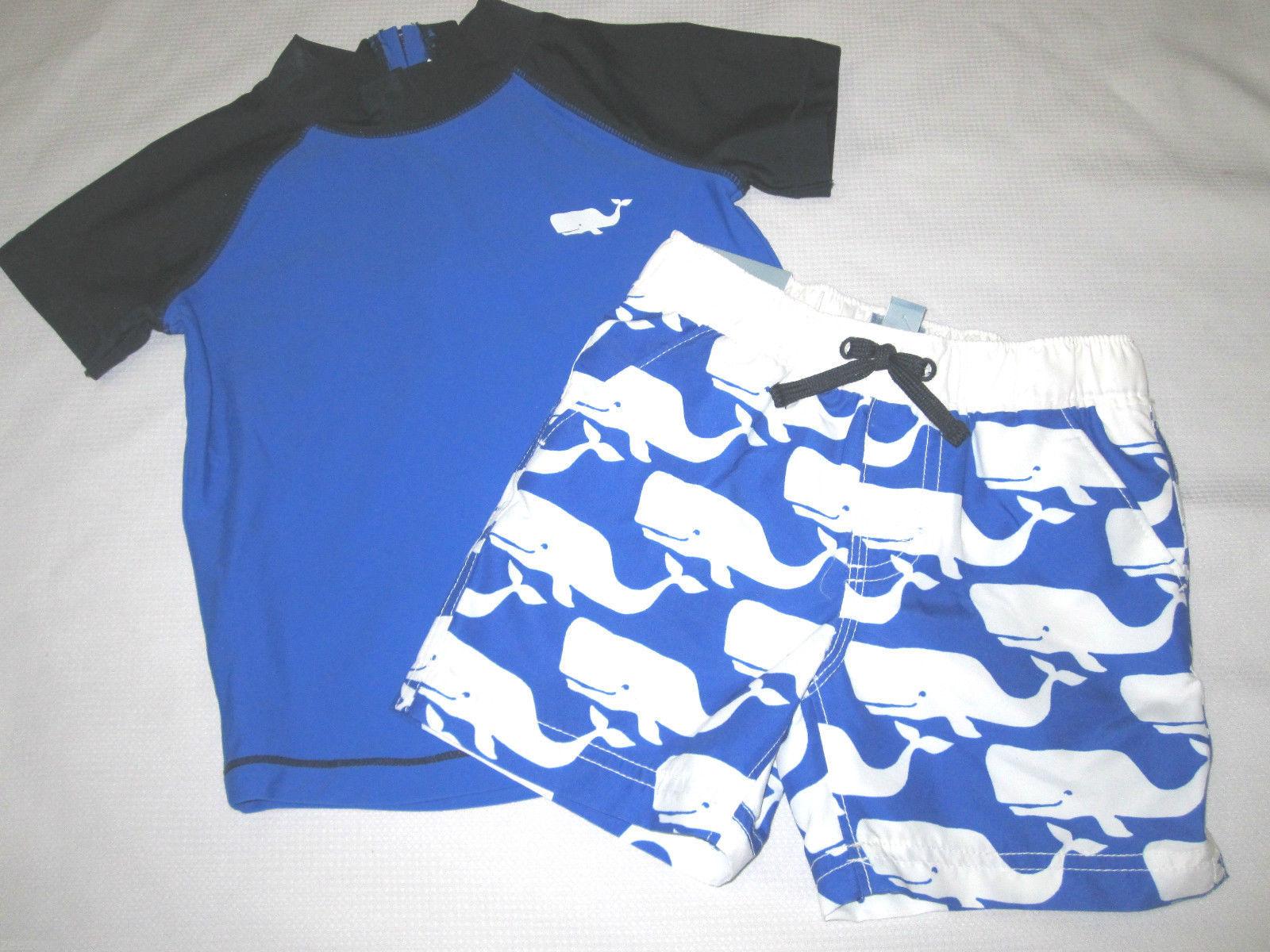 BABY GAP Boys Whale Rashguard Top Swim and similar items