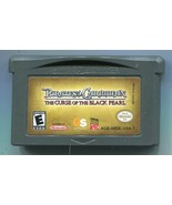 Pirates of the Caribbean: Curse Of The Black Pearl  (Gameboy Advance) Ca... - $1.97