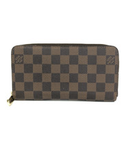 Louis Vuitton Zippy Wallet Damier Ebene N60015 Used Very good women From... - $462.18