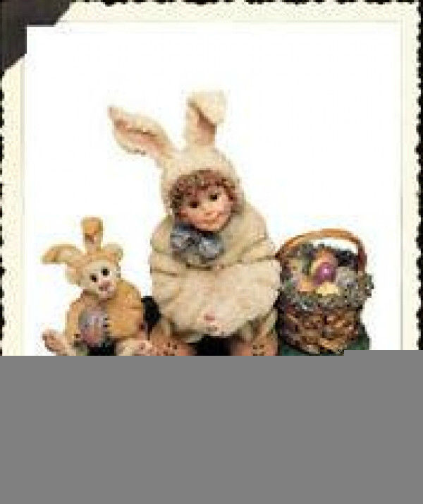 "Primary image for Boyds Dollstone ""Heather w/Lauren..Bunny Helpers"" #3538 -1E - NIB -1999 -Retired"