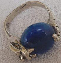 Blue snake ring thumb200