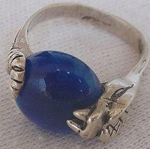 Blue snake ring 1 thumb200