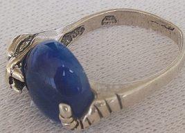 Blue snake ring 4 thumb200