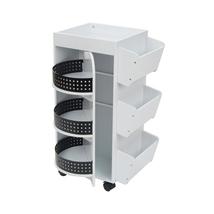 Studio Designs Swivel Organizer in White / Black 10220 - $180.91