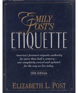 Emily Post's Etiquette - $13.48