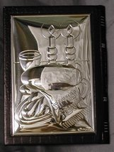 Leather n' Sterling Silver Zemiros [Kitchen] - $46.00