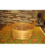 Longaberger Darning Woven Traditions Basket With Protector - $28.99