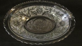 """Hocking Sandwich Clear 8.5"""" Oval Serving Dish Bowl - Extra Nice Condition - $5.00"""
