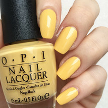 OPI Washington NEVER A DULLES MOMENT Muted Pale Yellow Nail Polish Lacqu... - $9.39