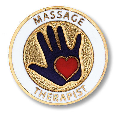Primary image for Massage Therapist Medical Emblem Lapel Pin New