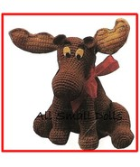 """Adorable Pattern for 12"""" Crocheted  Moose - $4.99"""