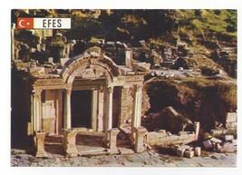 Turkey Efes Ephesus Hadrian Temple Arcadian Street Vintage Postcard 4X6 - $4.99