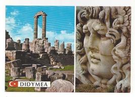Turkey Didyma Temple of Apollo Medusa Head Didymea Ruins Vntg Postcard 4X6 - $4.99