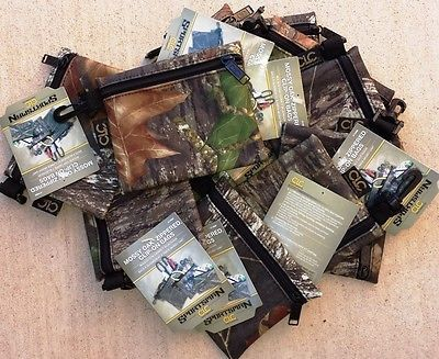 "Primary image for Ten (10) Pack of CLC WORK GEAR 1100M KEEPERS MOSSY OAK CAMO ZIPERED BAG 6""x 5"""