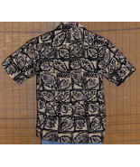Cooke Street Hawaiian Shirt Beige Green Blue Large - $29.95