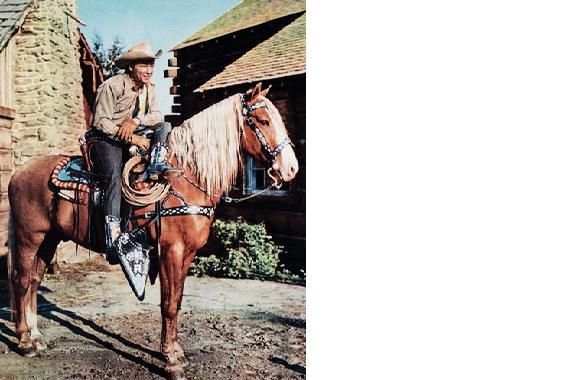 Primary image for Roy Rogers Trigger MM Vintage 8X10 Color Country Music Memorabilia Photo