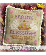 Spring Blessings cross stitch chart Sweet Liberty Threadworks  - $8.00
