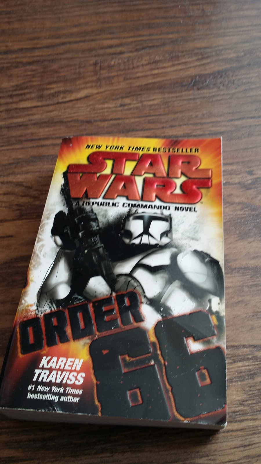 Primary image for Star Wars: A Republic Commando Novel Order 66 by Karen Traviss (2009 Paperback)