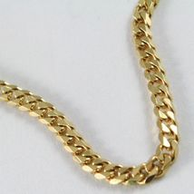 MASSIVE 18K GOLD GOURMETTE CUBAN CURB CHAIN 2.8 MM 24 IN. NECKLACE MADE IN ITALY image 5
