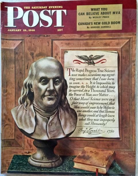 Primary image for The Saturday Evening Post January 19, 1946 - FULL MAGAZINE