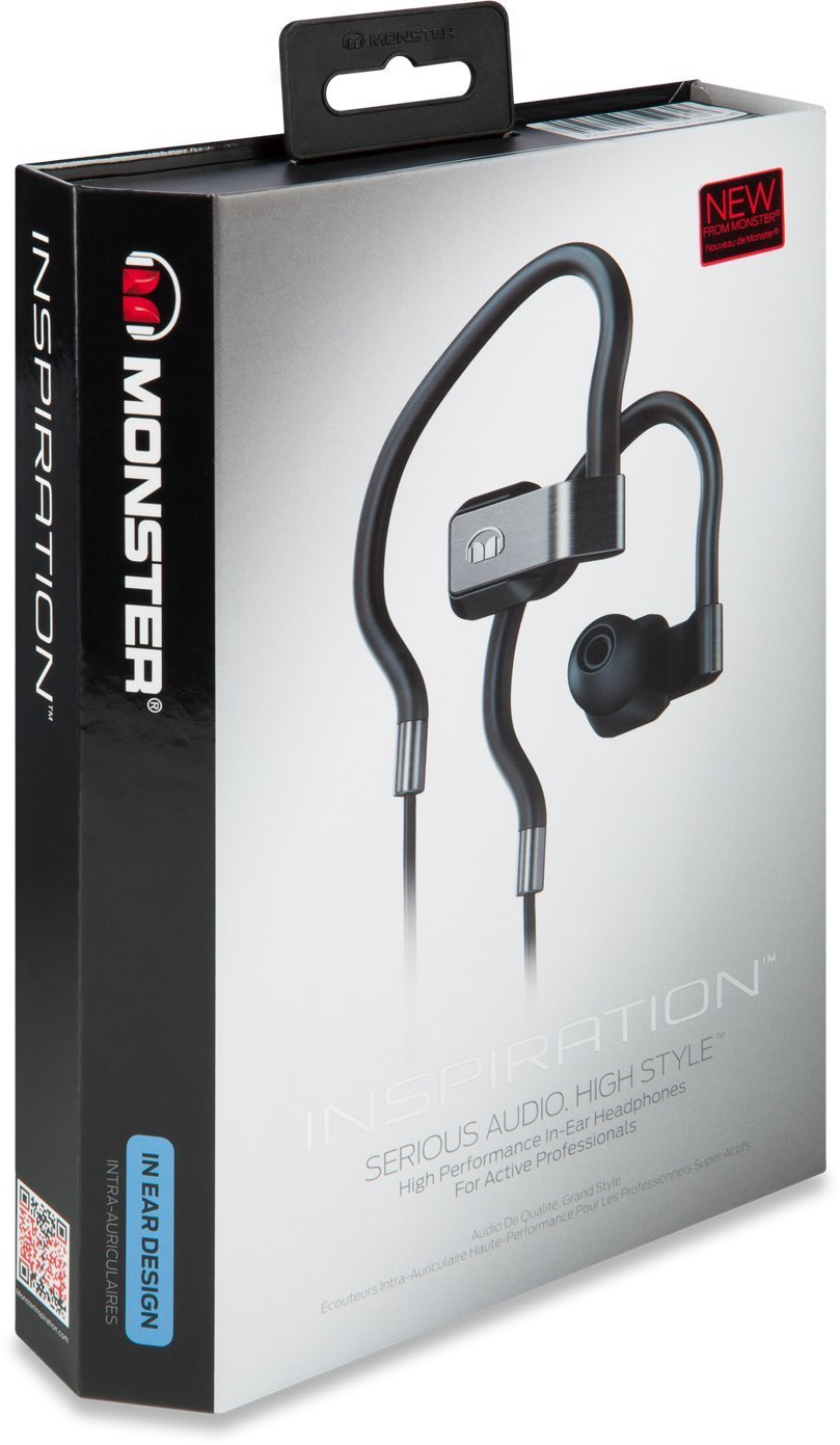 Primary image for Monster Inspiration In-Ear High Definition Earphones w/ControlTalk Cable - Black
