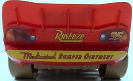 Cars Talking Lightning McQueen Mud Track - Movable Eyes - Disney Pixar- RARE image 4