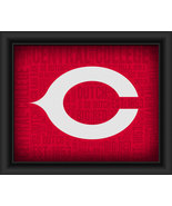 Central College Dutch College Logo Plus Word Clouds -15 x 18 Framed Print - $49.95
