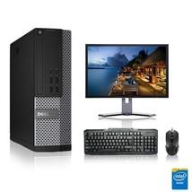 Dell Computer 3.3 G Hz Pc 16GB Ram 250 Gb Hdd Windows 10 - $338.52