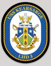 US Navy USS Kearsarge LHD-3 Sticker - $9.89