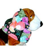 Dog Snood Asian Flowers Lanterns Fleece Bloodhound Standard Poodle Sette... - $13.50