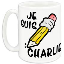 Je Suis Charlie inI Am Charliein Hebdo Freedom Of Expression Pencil Mug - $3.47