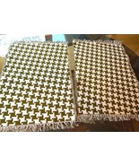 "Set of 2 Woven Placemats-Contemporary Geometric Design  14 1/2"" x 21""   ... - $6.99"