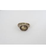 Vintage Sterling Silver Bold Ring Size 5 - $15.00