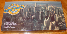 ONLY IN NEW YORK BOARD GAME 1985 THREE ETHNICS & A WASP LTD COMPLETE EXC... - $30.00