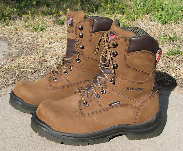 Primary image for Womens Red Wing 8-inch Waterproof King Toe Boots Brown 2381 Size 9 D