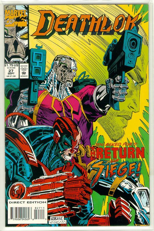 Primary image for DEATHLOK #27 (1991 Series) NM!