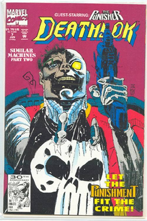 Primary image for DEATHLOK #7 (1991 Series) NM!