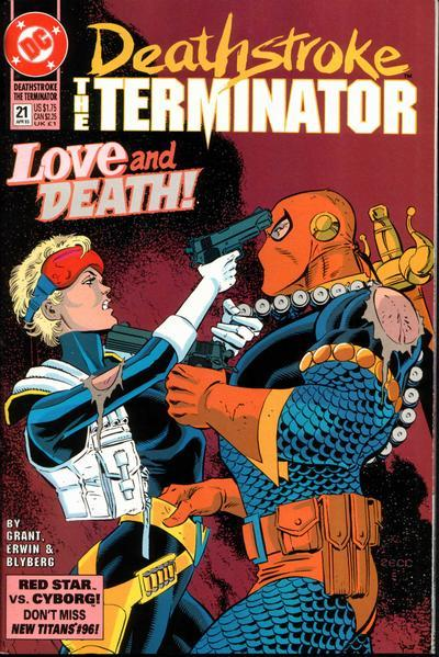Primary image for DEATHSTROKE the TERMINATOR #21 NM!