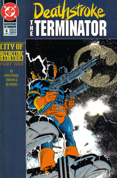 Primary image for DEATHSTROKE the TERMINATOR #6 NM!