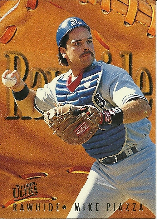 Primary image for 1996 Ultra Rawhide Mike Piazza 8 Dodgers