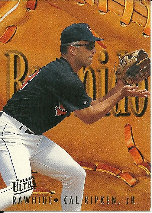 Primary image for 1996 Ultra Rawhide Cal Ripken Jr 9 Orioles
