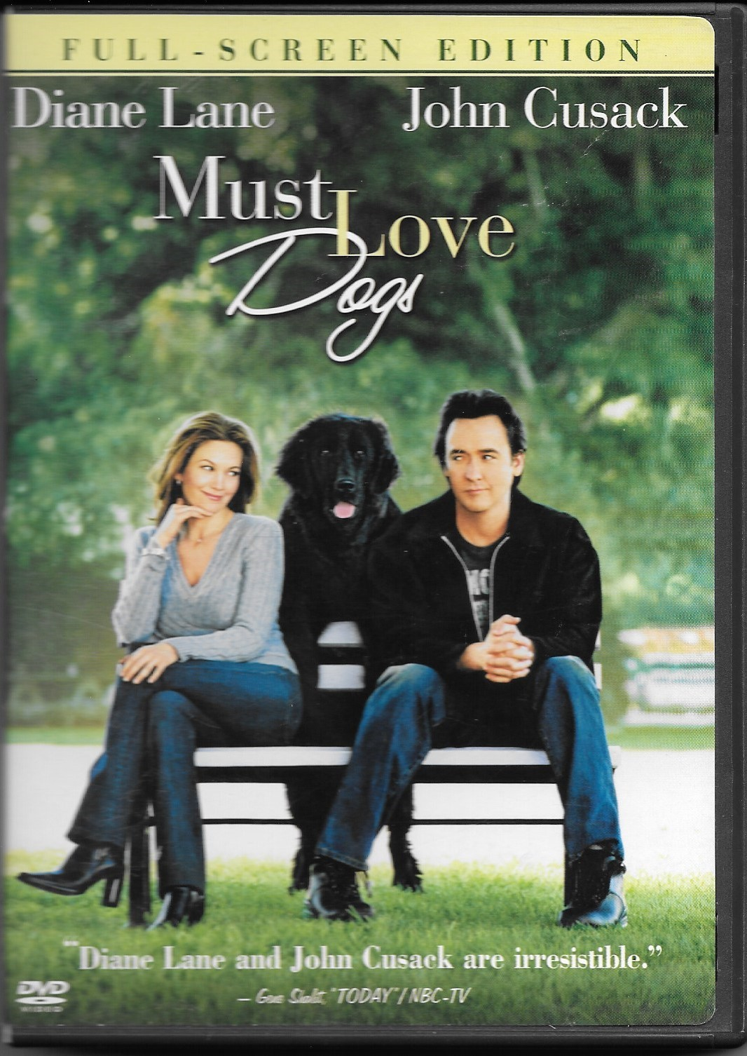 Primary image for Must Love Dogs (DVD, 2005, Full Frame)